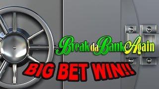 BIG WIN on Break da Bank Again Slot - £9 Bet!!