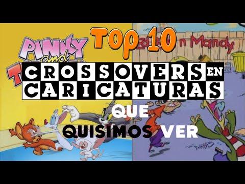 Top 10 - Crossovers que QUISIMOS ver en las CARICATURAS   El Espectador Casual