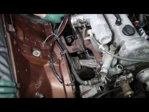 How to Cosmetically Restore an Old Cars Engine Compartment Part 2