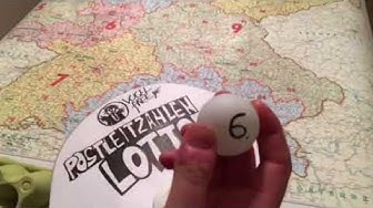 vogelfree PLZ-Lotto, Ziehung die Erste!