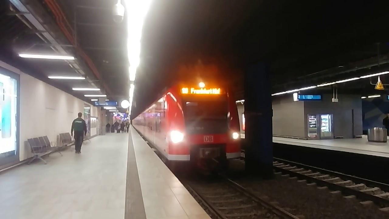 S Bahn Rhein Main Br 425 Verlasst Frankfurt Flughafen Regionalbahnhof Youtube