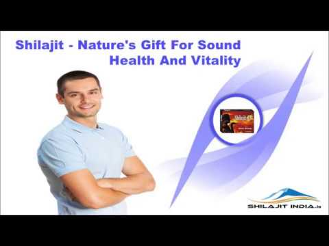 Shilajit - Nature's Gift For Sound Health And Vitality