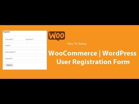 Edit Woocommerce User Registration Page | Edit WordPress User Registration Page Hindi