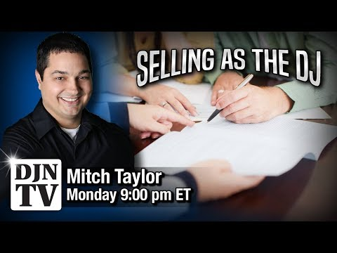Mitch Taylor: Selling as THE DJ | 12 DJ Gifts Of Christmas | #DJNTV