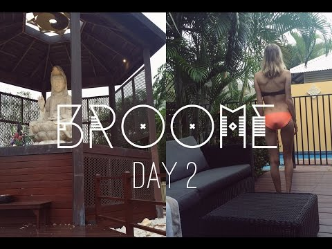Broome Vlog Day 2 | Exploring the Town Centre, Swimming, Buddhist Sanctuary