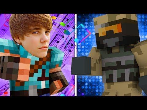 Dansk Minecraft: ZAGI VS JUSTIN BIEBER!