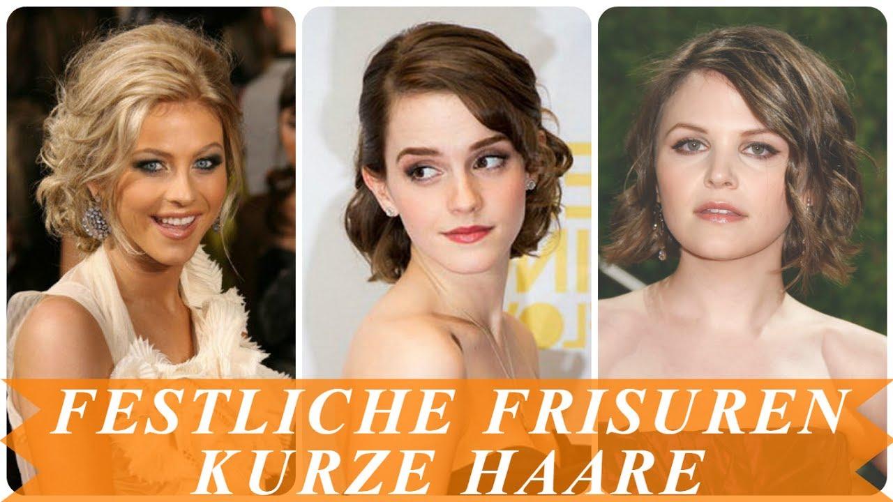 Beste Festliche Frisuren Für Kurze Haare Damen YouTube