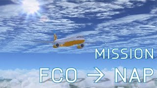 FSX Rome to Naples Flight | Missions | A321-200