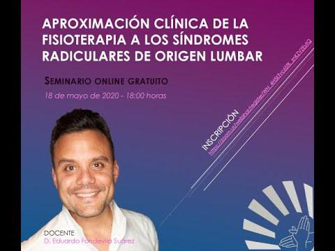 Aproximación clínica de la Fisioterapia a los síndromes radiculares de origen lumbar