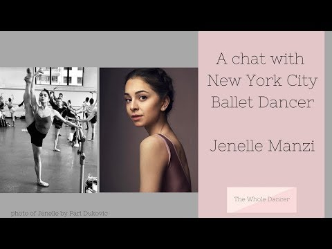 A chat with New York City Ballet Dancer Jenelle Manzi