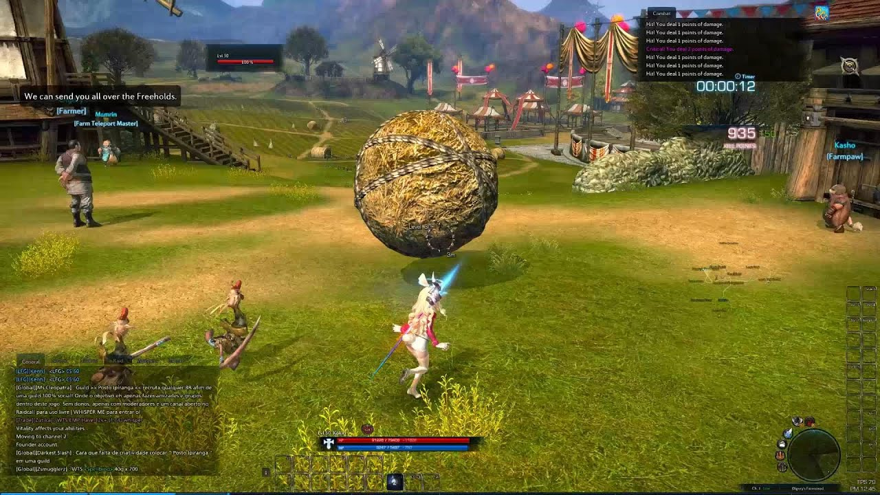 tera rootstock main quest mini games youtube