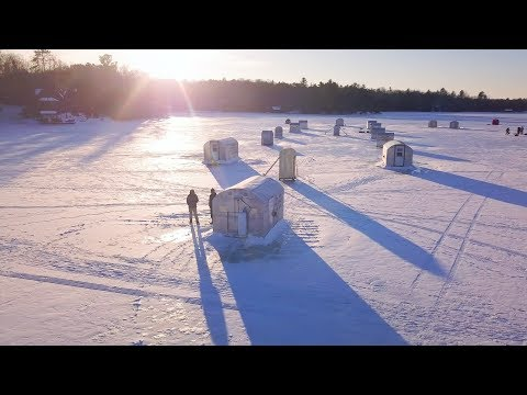 Gull Lake // Ice Fishing