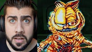 Encontré el verdadero VIDEOJUEGO de GOREFIELD !!  Garfield de TERROR 😭 😭 !!