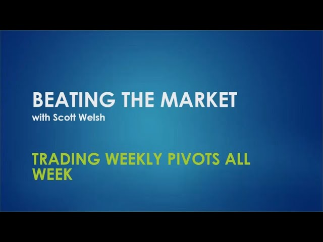 Trading Weekly Pivots All Week