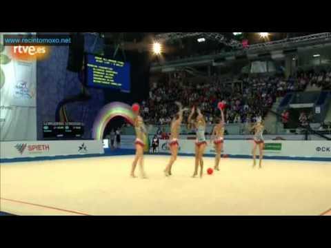 Russia 5 Balls Final European Championship Nizhny Novgorod 2012