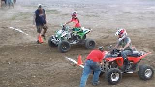 ATV & UTV Dirt Drag Races at Jacktown Fair