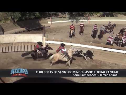 RODEO AL DIA 70 CLUB LAS ROCAS DE SANTO DOMINGO 25 DICIEMBRE 2018