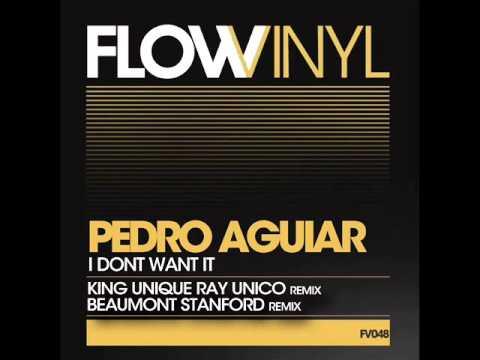 Pedro Aguiar - I Dont Want It KU Ray Unico Remix - Flow Vinyl