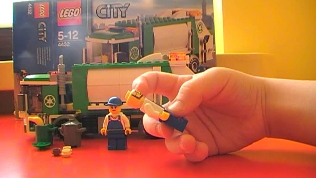 Lego City śmieciarka 4432 Youtube