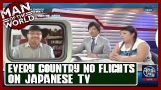 Graham Hughes on Japanese TV!!!