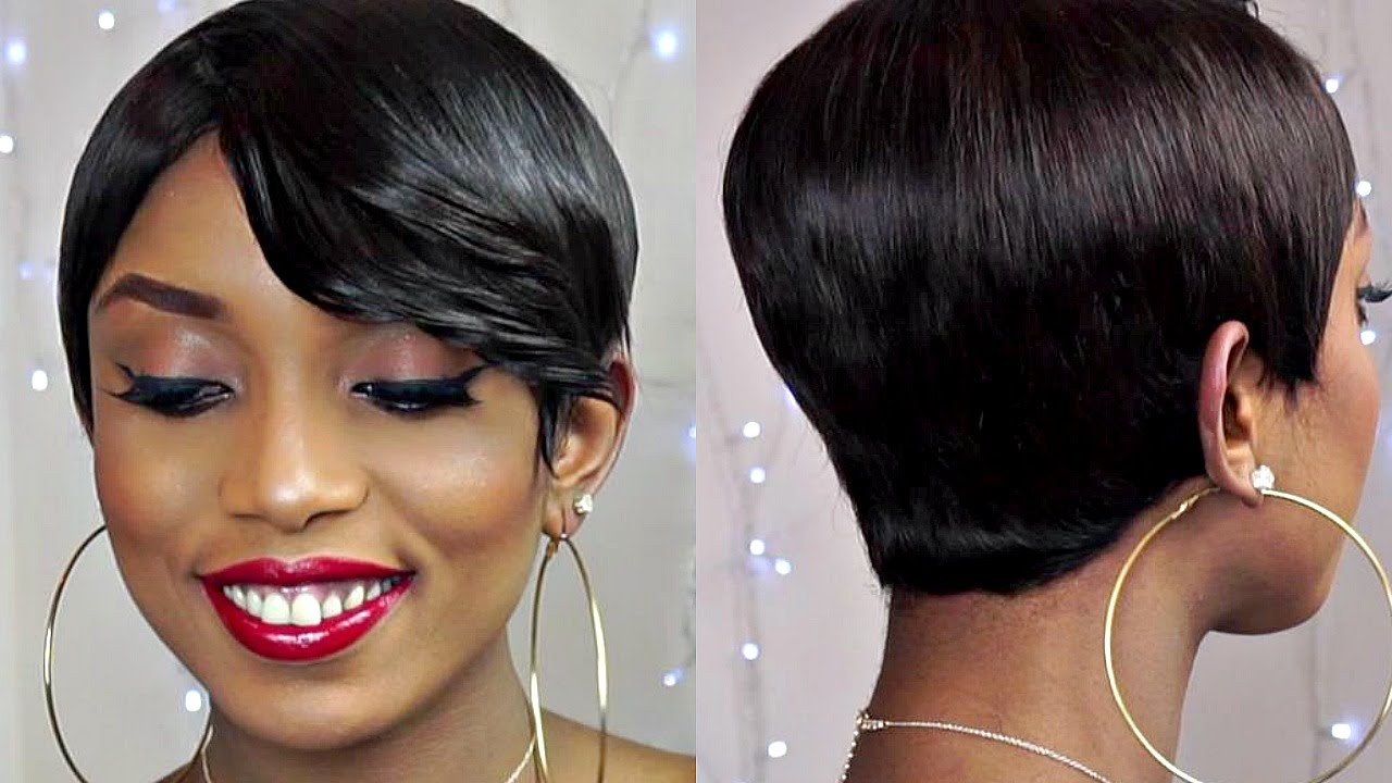 Diy How To Make A Pixie Short Sexy Wig With Bangs From