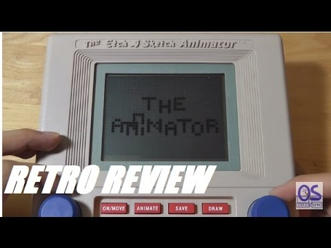 Retro Review: Etch A Sketch Animator (Digital) - 1986?!