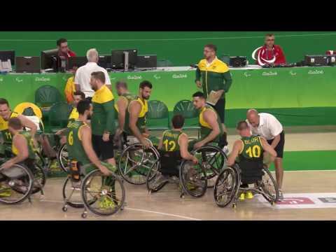 Wheelchair Basketball | Spain vs Australia | Men's preliminaries | Rio 2016 Paralympic Games