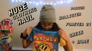 Summer clothing haul & unboxing