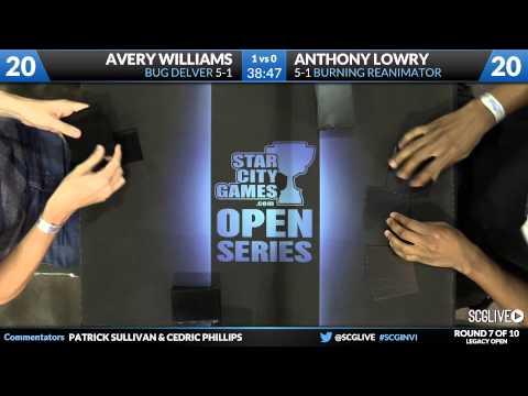 SCGINVI - Legacy - Round 7 - Anthony Lowry vs Avery Williams