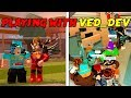 PLAYING WITH VED_DEV ON MY VIP SERVER [STREAM HIGHLIGHT](Roblox Jailbreak)
