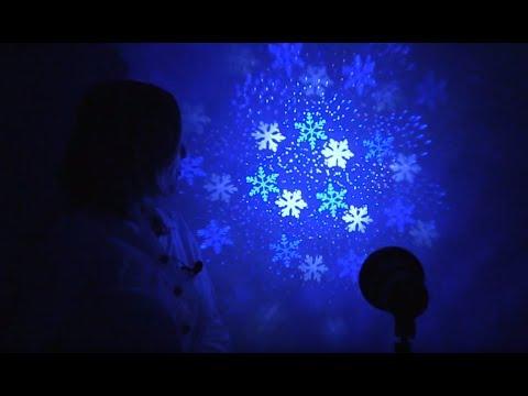 """Новогодний LED-проектор ЭРА """"Снежинки"""""""