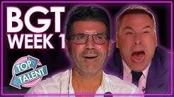 Britain's Got Talent 2020 Auditions! | WEEK 1 | Top Talent