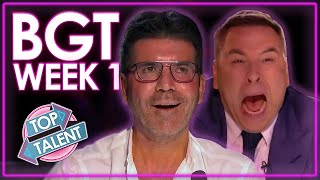 Britain's Got Talent 2020 Auditions!   WEEK 1   Top Talent