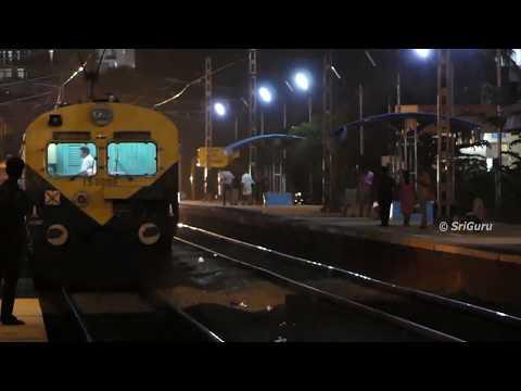 Dark Night Actions at Hoodi Halt | Indian Railways [4K]