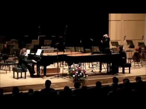 Martinu: Czech Dances for two pianos