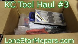 KC Tool Haul #3: Stahlwille, Knipex, Gedore, Felo, Wiha, & NWS!