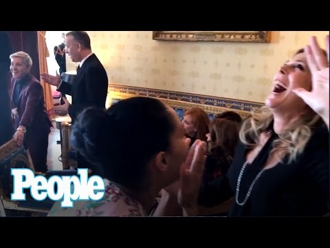 Ellen DeGeneres, Tom Hanks & More: The Mannequin Challenge #WhiteHouseEdition   People NOW   People