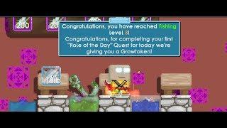 Growtopia - Role Fishing LvL 3!!