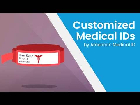 Customized Medical IDs from American Medical ID