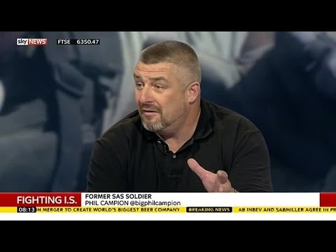 Fighting IS: Former SAS Soldier Says War Is Unwinnable Right Now