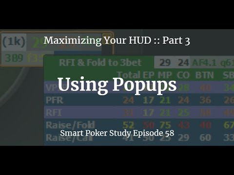 Maximizing Your HUD Part 3: Using Popups | Podcast #58