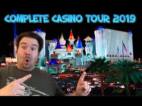 Excalibur Las Vegas - COMPLETE WALKTHROUGH TOUR OF CASINO AUGUST 2019
