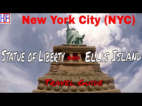 New York City (NYC) | Statue of Liberty and Ellis Island | Tourist Attractions | Episode# 6