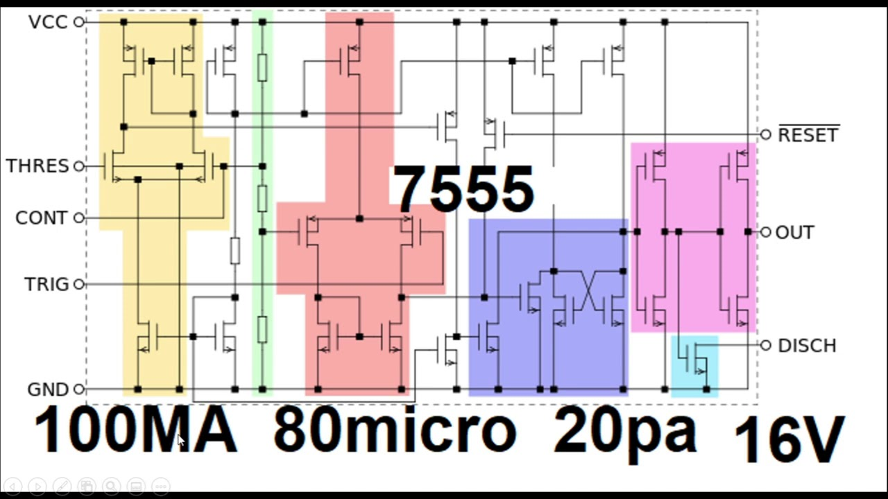 555 timer theory and application circuits