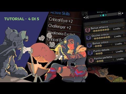 """""""Skill, Attributi ed Equipaggiamenti [4 di 5]"""", Monster Hunter Tutorial - Lo Spirito del Fanboy thumbnail"""