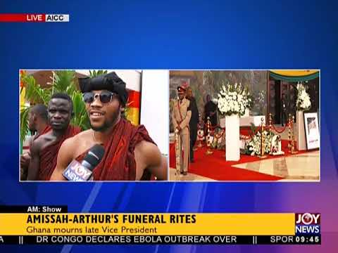 Ghana Mourns Late Vice President - AM Show on JoyNews (26-7-18)