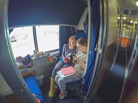Amtrak Empire Builder Train Red Wing Minnesota to Portland Oregon RDW to PDX Sleeper car Roomette
