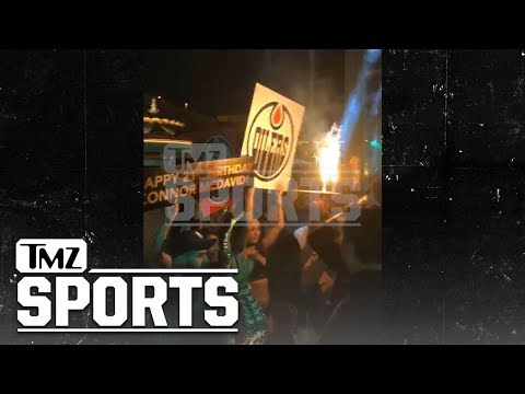 NHL's Connor McDavid Rages with Chainsmokers In Vegas for 21st Bday | TMZ Sports