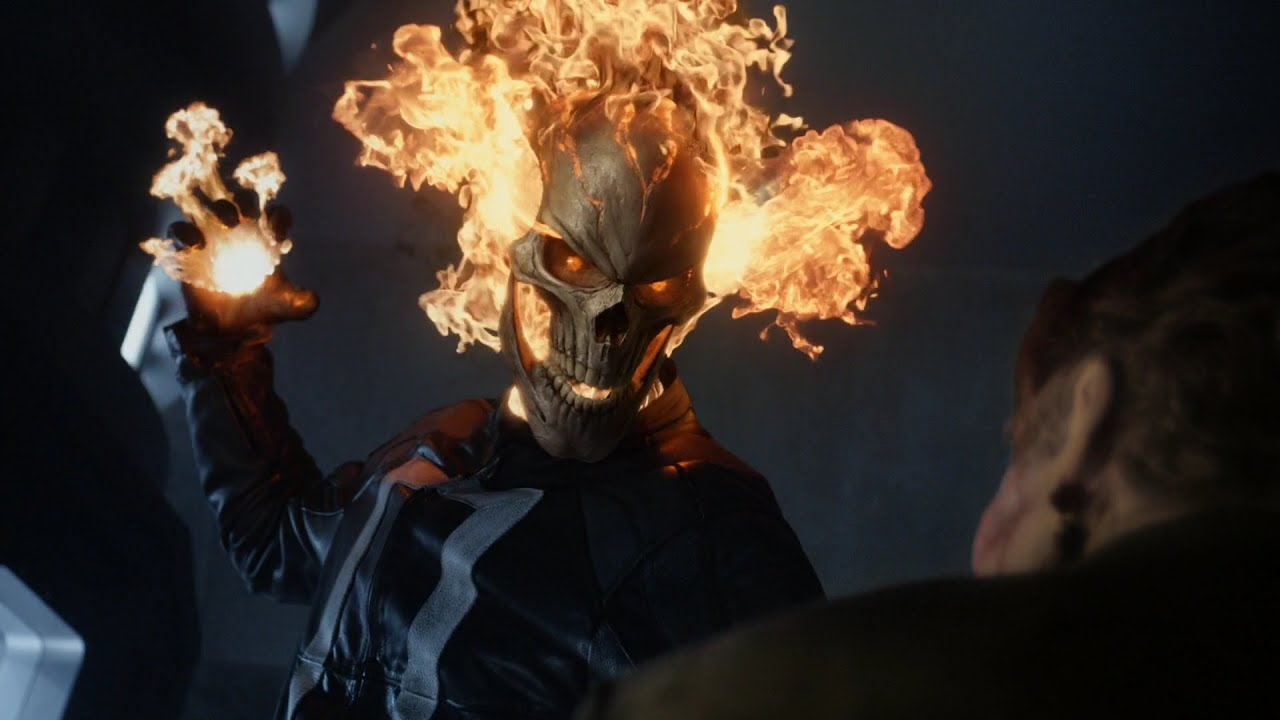 Ghost rider fight compilation agents of s h i e l d - Tv series wallpaper 4k ...