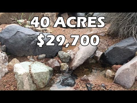 Remote Acreage For Sale 40 Acre Mountain Ranch Land In Arizona For $29k (EP. 5)